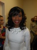 Tomisha backstage