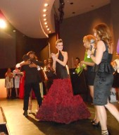 Keon Brown winning Fashion Uncorked 2013